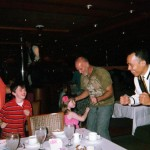 More dancing at dinner