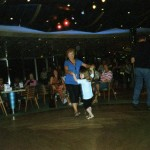 Both grandma and Ivy like to dance