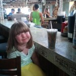 Ivy bellies up to the bar at Margaritaville