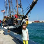 Pirate ship excursion