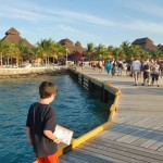 Walking the plank to Cozumel