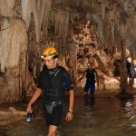 Rio Secreto Moises leading through cave