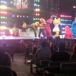 Rocking out with Sesame Street