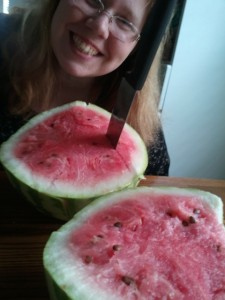Look I made watermelon!