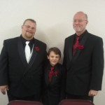 Jim, ring bearer, & best man