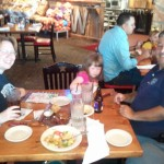 Lunch at Saltgrass