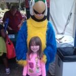 A big parrot