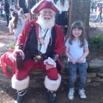Ivy & Pirate Santa