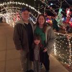 Xmas lights in Fayetteville