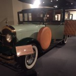 Lots of cool old cars in this museum