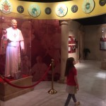 Entering the Pope section