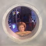 Mom at the Aquarium