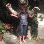 Mom being mauled by a tiger
