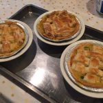 Turkey pot pies!
