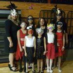 Ivy's girls scout troop