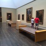 Strolling thru the museum