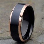 1-Mens-black-Titanium-Wedding-Band-with-rose-gold-Beveled-Edge-e1486066873666