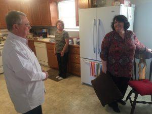 Lloyd and Mom and Glenda